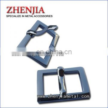 zinc alloy belt pin buckle shinny gold or nickel color finish