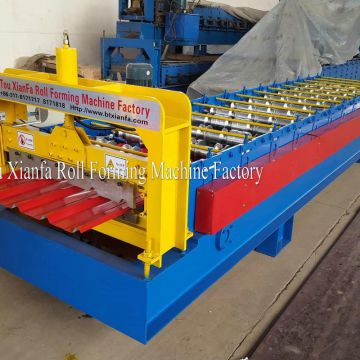 roofing metal thin panel roll forming machine