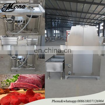 Factory price meat saline injection machine / automatic brine injecting machine / meat brine injector machine