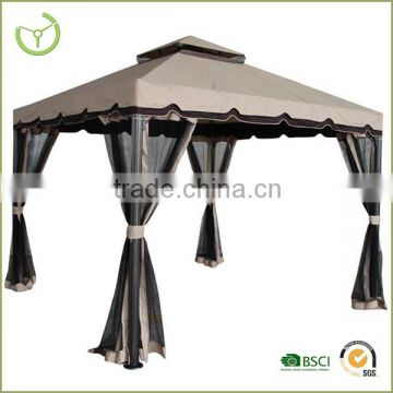 Easy assembling outdoor new design Rome garden luxury gazebo with mosquito net                                                                         Quality Choice