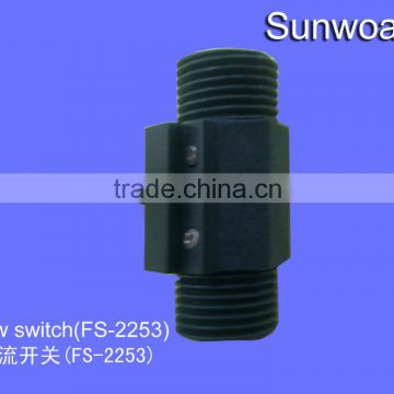 "DN15 1/2"" rate 0.5~5L/min Liquid water magnetic low flow switch for detect if not water prevent machine burn"