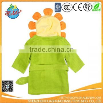 high quality cotton towel baby bathrobe bath towel