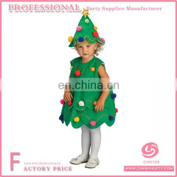 Infant Little Christmas Tree Dress Costume