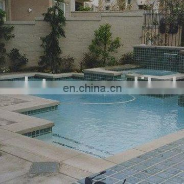 golden limestone swimming pool coping stones for above ground pool
