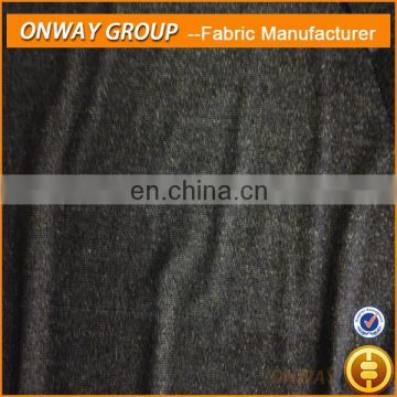 Onway Textile hatchi 2014 shaoxing fabric polyester knit needle thick fabric for knitted sweater