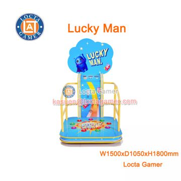 Zhongshan Locta redemption amusement equipment funny play Dancing machine indoor game machine dancing music, lucky man