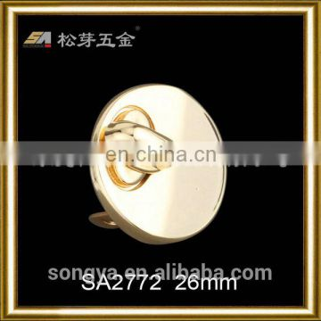 Zinc Alloy Fake Lock For Bag Or Briefcase, Custom Color Oval Shape Metal Fake Lock For Decoration