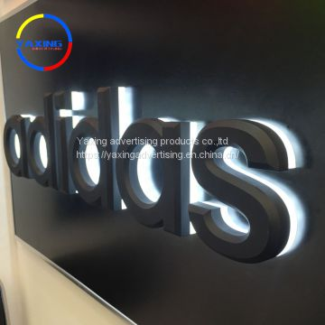 Outdoor advertising products billboard mini acrylic led sign and letters for shop open sign metal sign channel letter