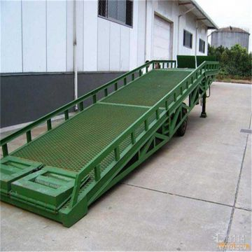 Moving Ramp High-duty Steel Structure Loading Dock Safety