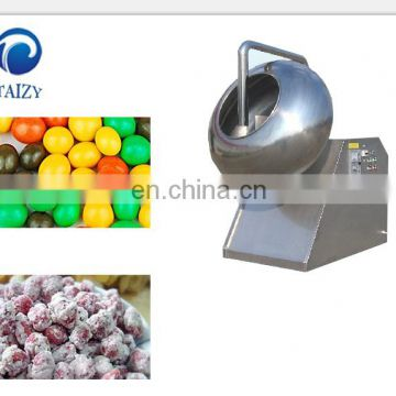 Snacks Spray Sugar Coating Machine Sugar chocolate candy coating pan machine
