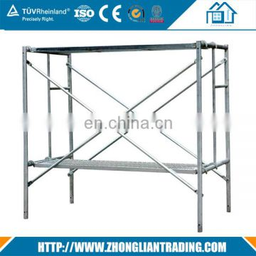 Manufacturer aluminum steel scaffolding for stair