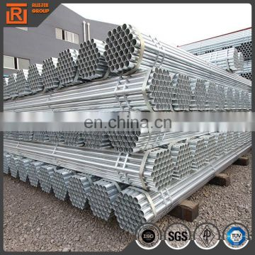 Q235 schedule 40 galvanized steel pipe 4 inch/welded pre galvanized pipe