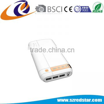 High Capacity 17600mAh Mobile Power Bank for Iphone