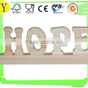 wood alphabet letter wood letter wholesale