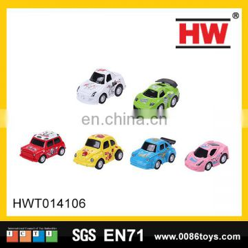 Diecast pull back cars mental vehicle