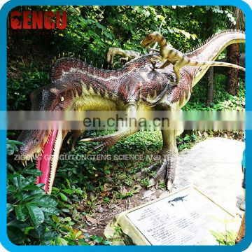 Theme park high simulation small plastic dinosaurs model