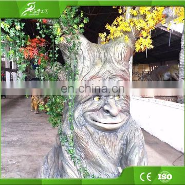 KAWAH Customize acceptable,animatronic toy,talking Tree for park
