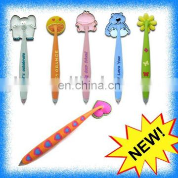 soft pvc pen with magnet
