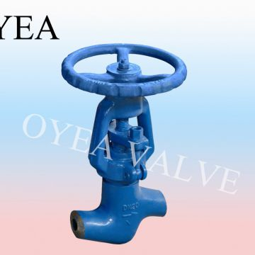 ANSI GB JIS DIN High Pressure High Temperature Wcb Cast Steel Forged Steel Stainless Steel Power Station Globe Valve