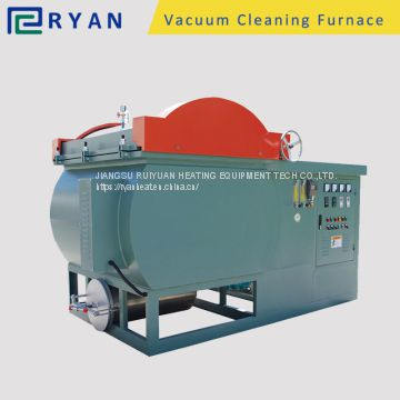 pyrolysis oven for clean PP/PE/PA/ABS from mold and spin pack in film manufacturer
