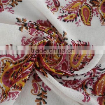 2015 Classic Paisley Printed Rayon Scarf