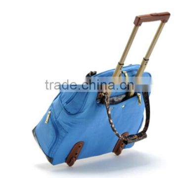 Custom High Quality Multifunction Tote Trolley Bag for Travel Trip and Business