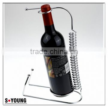 43013 Wine Bottle Holder Metal Red Wine Bottle Rack