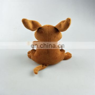 Australian souvenirs customized kangaroo plush stuffed toy key rings
