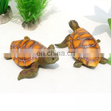 Souvenirs And Handcraft Statue 3D Resin Sea Turtle Decoration