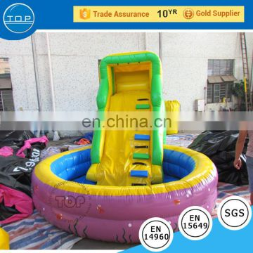 TOP INFLATABLES Hot selling giant for kids jumbo water slide inflatable with low price