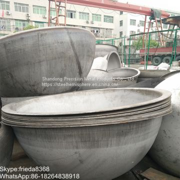 large steel hemisphere stainless steel balls metal sphere half stainless steel balls