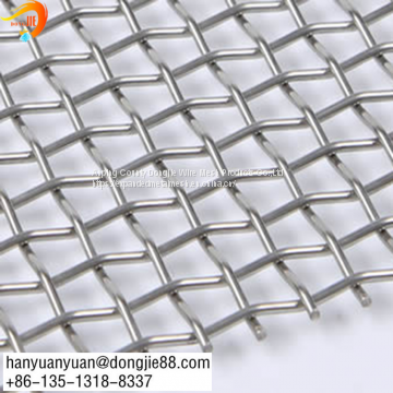 Carbon steel crimped wire mesh for mining