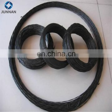 factory price BWG16 black annealed twisted wire for nails