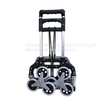 6 Wheel Luggage Cart For Climbing Stair Stair Climbing Cart