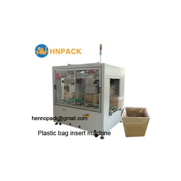 Hennopack MB40P plastic bag inserter machine for margarine  pe bag inserter