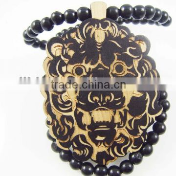 2015 custom new design wooden necklaces