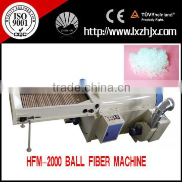 HFM-3000 Ball fiber machine, pearl fiber making machine , ball fiber pillow machine