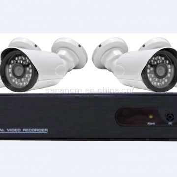 4CH 1080P Network POE NVR Kit CCTV Security System 2.0MP IP Camera Outdoor IR Night Vision Surveillance Camera System