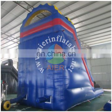 2017 Aier China cheap used giant commercial adult inflatable pool slide / inflatable slide for inflatable pool