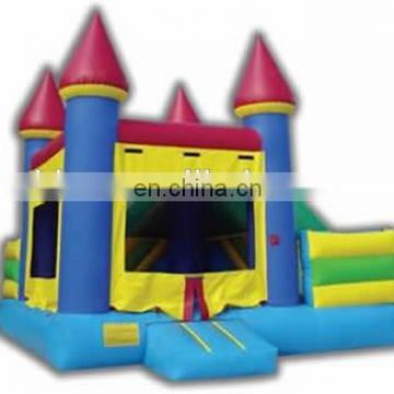 Outdoor safe inflatable bouncy castle combos NC022