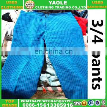 Used Clothing Brand Name 3/4 Pants Old Clothes Used Clothes
