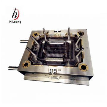 high quality plastic injection moulds europe standard crate mould