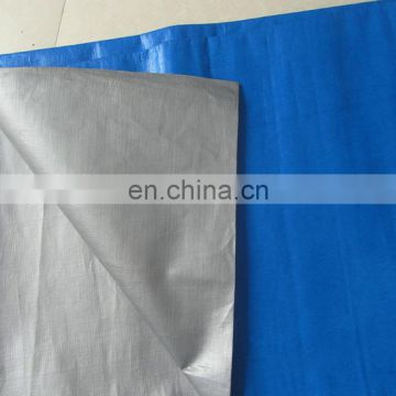 heavy duty PE tarpaulin used for gravel trailer cover