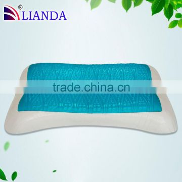 2015 new style ,Summer hot sales comfortable cool gel pillow , Gel menory foam pillow