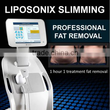 Pain Free (Hot In USA) Ultrasound Machine Price 2016 Portable High Frequency Face Machine Revolutionary Stubborn Fat Killer Ultrashape HIFU Weight Loss Liposonix High Frequency Machine For Hair