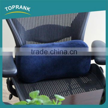 Cheap wholesale office chair soft comfort cylindrical memory foam lumbar back support cushion