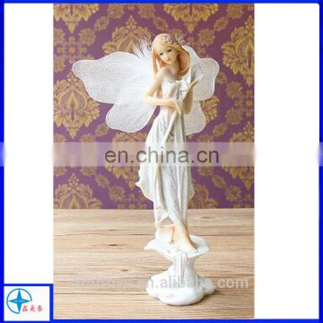 Custom White Resin Mini Fairy Angel Figurines