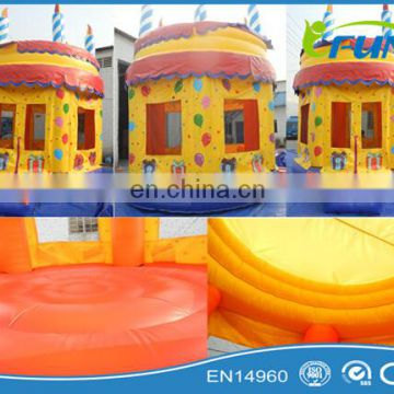 Funny inflatable castle for birthday party / inflatable jumping castle