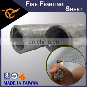 Strong Fire Fighting Harmless to Environment Intumescent Fire Resistant paper