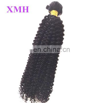Best quality brazilian virgin human hair kinky curly braiding hair hair extension kinky curly